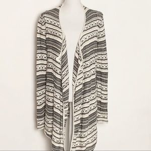 MAURCES- Long Sleeve Open Cardigan. Size Medium